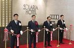 니시테츠 쏠라리아 호텔 부산점, 호텔 개장식 개최