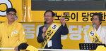 """심상정 """"홍준표 후보 잡아 적폐 청산하게 해달라"""""""