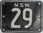 금보다 비싼 자동차 번호판...호주 옛 번호판 4억 원대 낙찰?
