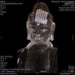 조선시대 불상 CT 촬영했더니… 머리에서 고려 불경 나와 '깜짝'
