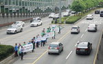 TBN 부산교통방송과 부산시설공단, 교통안전 캠페인 개최