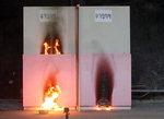 불연성 단열재도 불 활활…접착제 때문