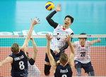 한국 남자배구, 핀란드에 역전승