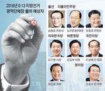 [지방선거 D-1년 누가 뛰나-울산시장] 진보·보수 대결구도, 김기현·정갑윤 자리바꿈설