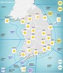 [오늘날씨] 전국 대체로 맑음...낮기온 30도 내외로 올라