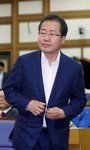 '막말' 홍준표 재등장 반기는 민주당 표정관리