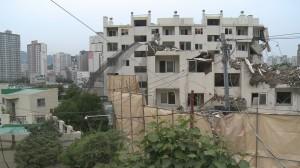 [영상]위험천만한 부산 광안1구역 재건축 현장...막무가내 시공사'