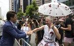 캐나다 총리, 게이 퍼레이드 참석