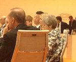 G20서 아버지 대신 대통령 자리 앉은 이방카