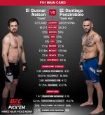 """[UFC Fight Night] 넬슨 거너-폰지니비오 산티아고 """"서로 다른 성향의 파이터"""""""