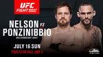 'UFC 파이트나이트 113' '맥그리거와 한솥밥' 거너 넬슨과 폰지니비오 메인 이벤트 장식