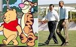 시진핑과 닮아서… '곰돌이 푸' 중국서 수난