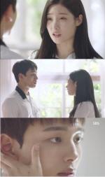 """'다시 만난 세계' 정채연, 진구와 머리 손질인지 입맞춤인지 … """"19금이야 19금"""""""