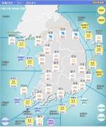 [오늘날씨] 전국에 구름 많고 경기·강원에 비, 오후 서울·경기 소나기
