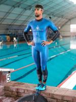 펠프스 VS 상어 수영 대결 논란...따로 대결해 시간 비교에 시청자 '실망'