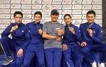펜싱 남자 사브르, 세계선수권대회 단체전 첫 금메달