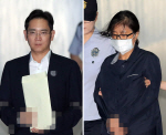 최순실, 이재용 재판서 '침묵 시위'…딸 진술 시인도 부인도 못해