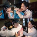 '7일의 왕비' 박민영 연우진, 어둠 속 재회-눈물의 포옹 '애틋'…치명멜로