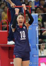 한국여자배구, 대만 3-0으로 꺾고 아시아선수권 준결승 진출