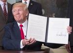 트럼프, 중국 지재권 침해 조사 지시…무역전쟁 선포