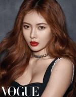 한국 단독 컬러 '디올 더블 루즈' 현아 화보로 공개