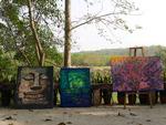 '오래된 미래 도시'를 찾아서 <31> 태국 난 강변 미술관과 오래된 미래를 창조하는 벽화