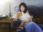 파룬궁 수련자의 리얼리즘 '진선인 국제미술전'