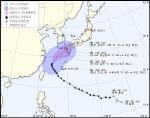 태풍 '탈림' 어디로?... 한국 vs 일본 기상청 예상 경로 살펴보니
