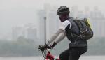 중국 미세먼지 유입에 시민 불편...오늘 오전까지 대부분 걷힐 듯