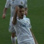 '스페인 신성' 세바요스의 선제골...레알 마드리드, 알라베스에 1-0 앞서