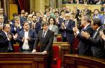 카탈루냐 독립선언 '일단 보류'…자치권 확대 협상나설 듯