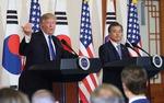 """""""코리아패싱 없다""""…북핵 평화적 해결도 재확인"""