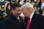 """시진핑 """"美와 한반도문제 소통원해""""…트럼프 """"북핵 해결책 있다"""""""