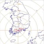 전남 순천시 남남서쪽서 규모 2.2 지진