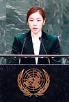 피겨여왕 평화메시지에 157개국 평창올림픽때 휴전결의