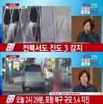 """[포항지진] 기상청 브리핑 """"남한 전역 흔들...역대 두 번째 규모"""""""