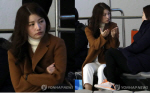 우나리, 목동서 안현수 응원...회사 대표로 빙상 월드컵 후원