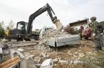 포항 지진 피해 복구 64.6%...이 와중에 땅밀려 대피 소동도