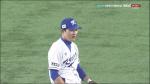 """[한국 대만] 김하성, """"내가 잡고도 믿을 수 없어"""""""