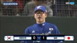[한국 일본 야구] 박세웅 허탈한 실점