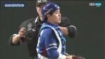 """[한국 일본 야구] 한승택 """"이게 아닌데"""""""