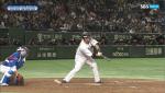 [한국 일본 야구] 박세웅 울린 오심 '방망이 나갔는데'