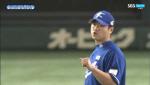 [한국 일본 야구] 스트라이크 못 던지는 심재민