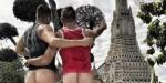 태국 사원에서 찍은 '엉덩이 노출사진' SNS 공유한 美 게이 커플 체포