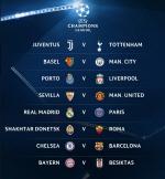 [챔스 16강 조추첨] 손흥민 상대는 유벤투스...바르셀로나 VS 첼시·레알 마드리드 VS PSG '빅매치 성사'
