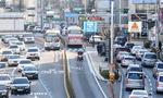 버스·승용차 나란히 속도 향상…좌·우회전 땐 사고위험