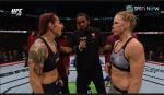 UFC 219 크리스 사이보그-홀리 홈 경기...압박 탐색 주고받는 중