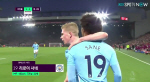 [EPL 23R]리버풀 vs 맨시티 사네 동점골 (전반41분)
