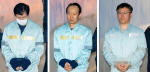 '문고리 3인방' 안봉근 이재만 정호성 나란히 한 법정에