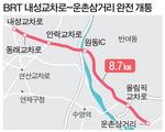 중앙버스전용차로(BRT) 동래~해운대 완전 개통